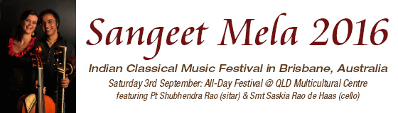 Sangeet Mela 2016 - Indian Classical Music and Dance Festival