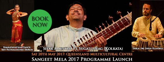 Sangeet Mela 2017 Programme Launch on Sat May 20 - BOOK NOW